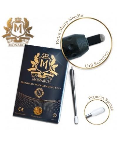 Skin Monarch U 18 Eccentric Disposable Microblading pens (1pc.)