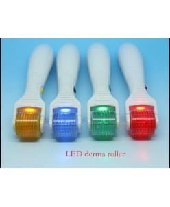 LED+Vibrating Derma Roller
