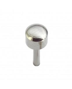 Caflon® sterile titanium earrings